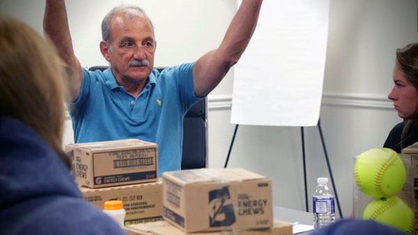 Ken Ravizza Sports Psychologist Action Shot